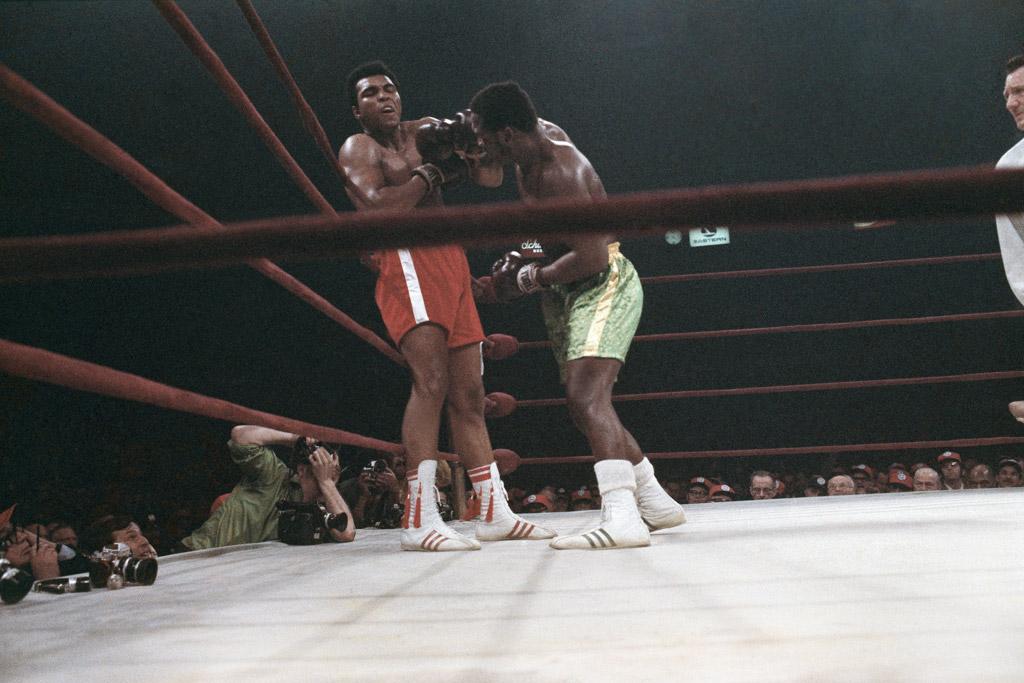 Muhammad Ali Joe Frazier Adidas