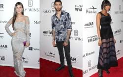 amfAR Gala Celebrities Red Carpet
