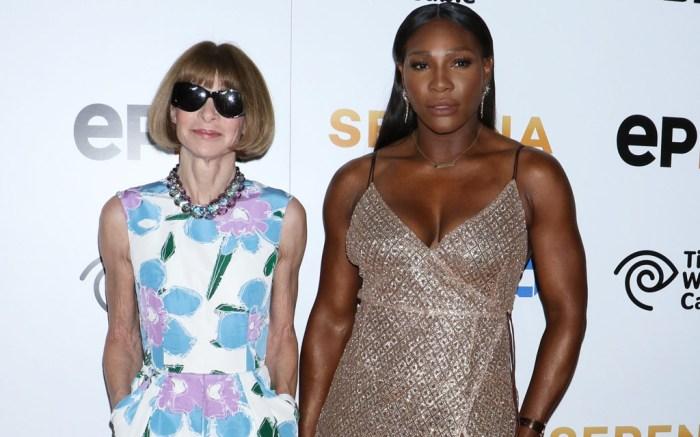 Anna Wintour Serena Williams Documentary Premiere
