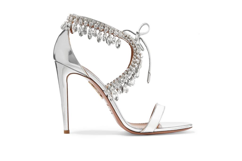 Aquazzura Crystal Sandals