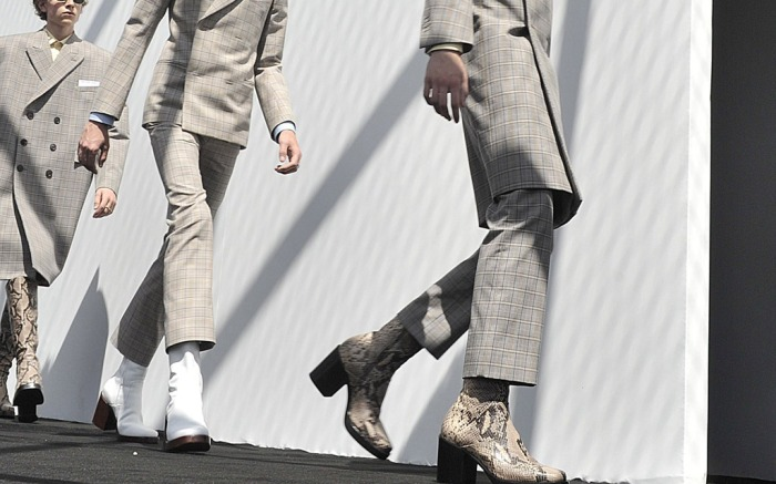 Balenciaga Men's Spring 2017 Collection Paris Men's Fashion Week