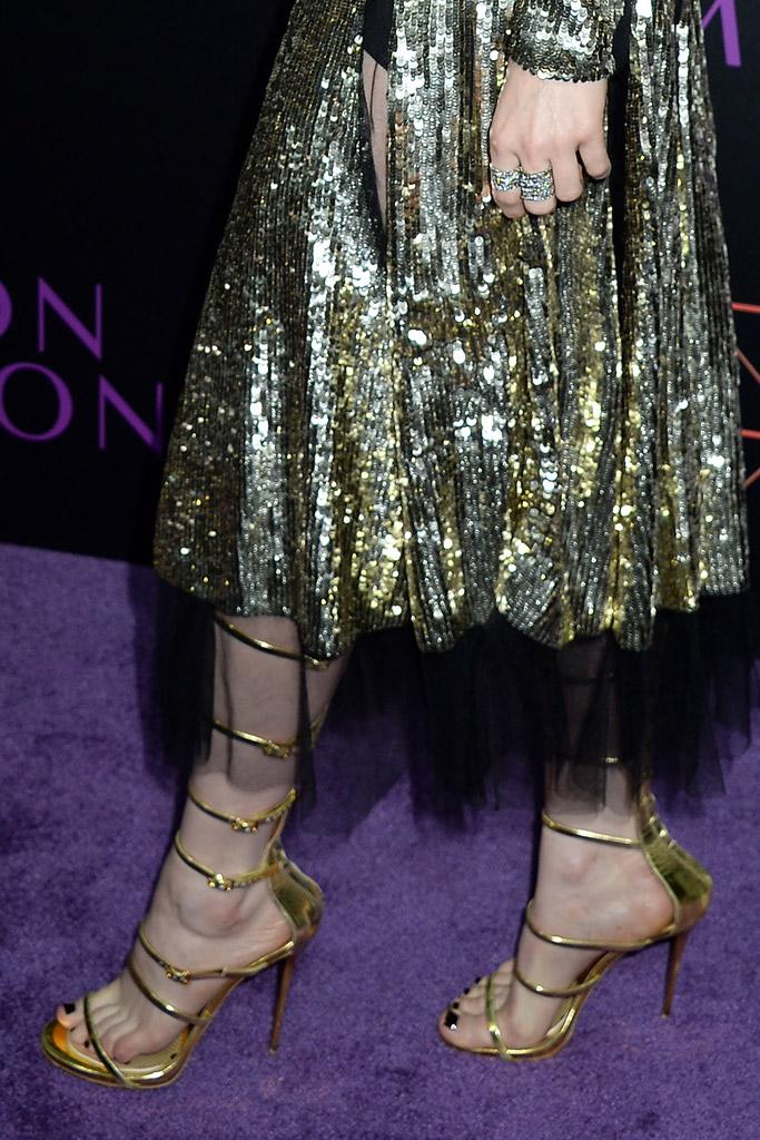 Bella Heathcote Celebrity Statement Shoes June 2016