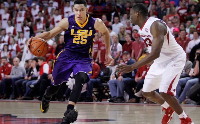 Ben Simmons LSU Nike LeBron 13