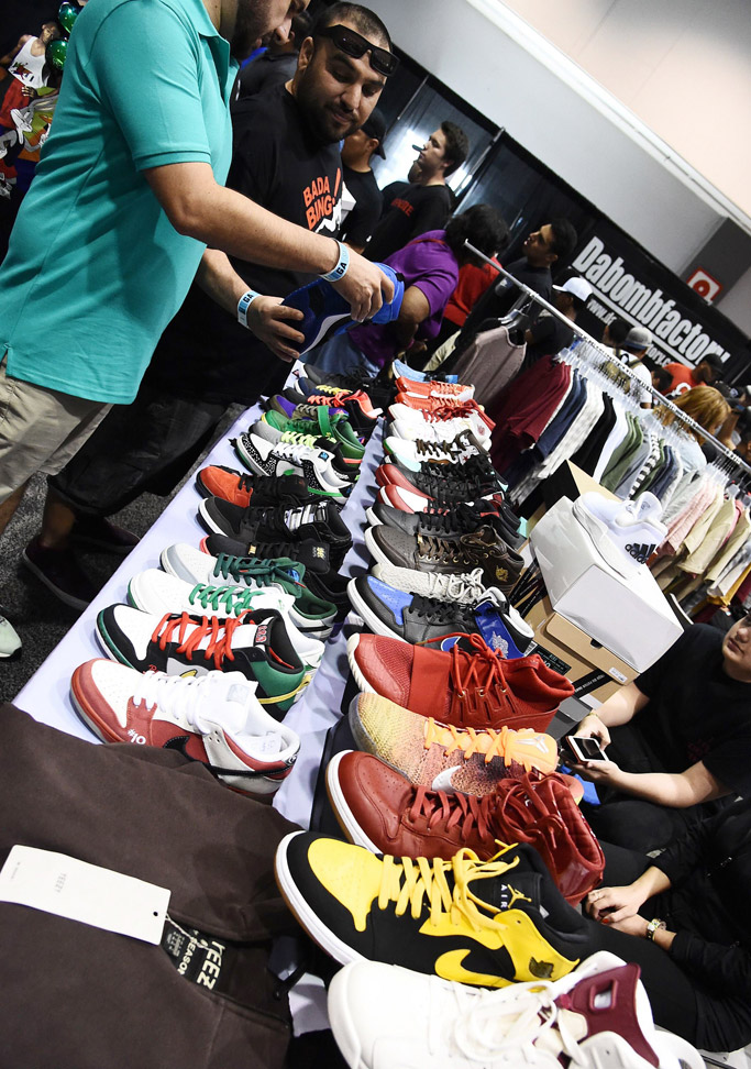 bet experience awards sneaker convention
