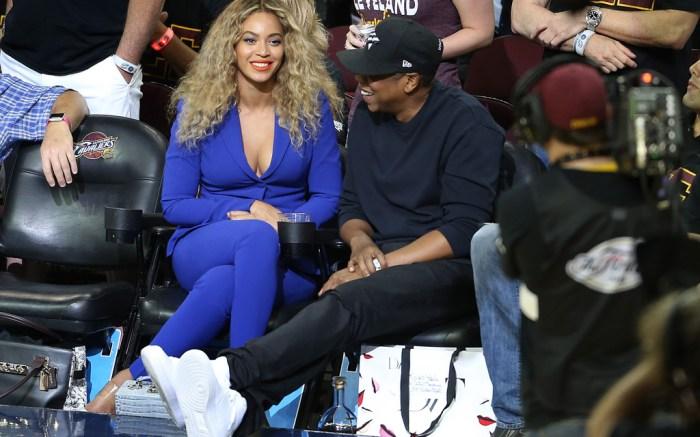 Beyoncé Jay Z NBA Finals