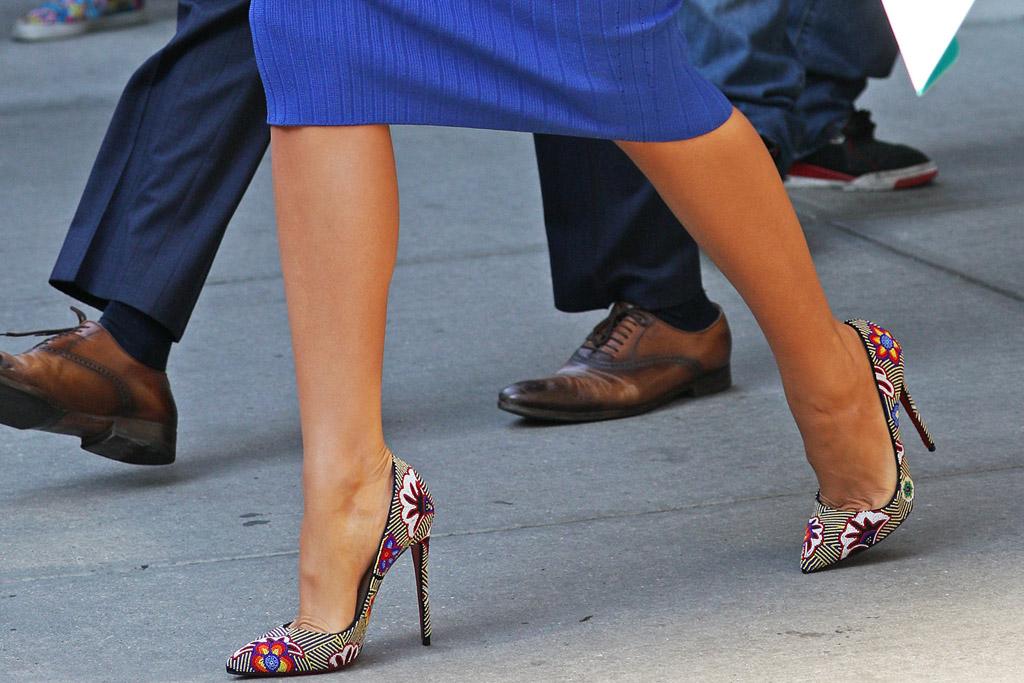 Blake Lively Celebrity Statement Shoes June 2016