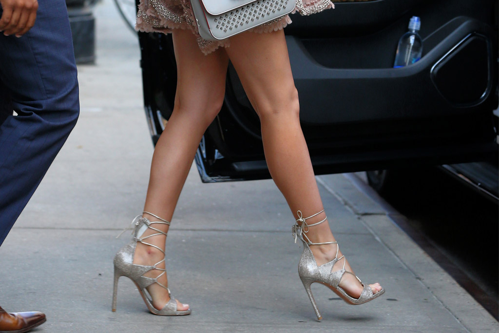 Blake Lively Celebrity Statement Shoes June 2016