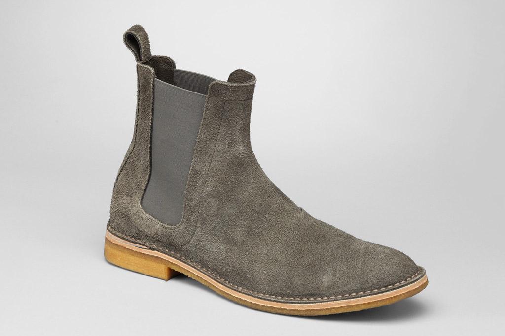 Bottega Veneta suede boot
