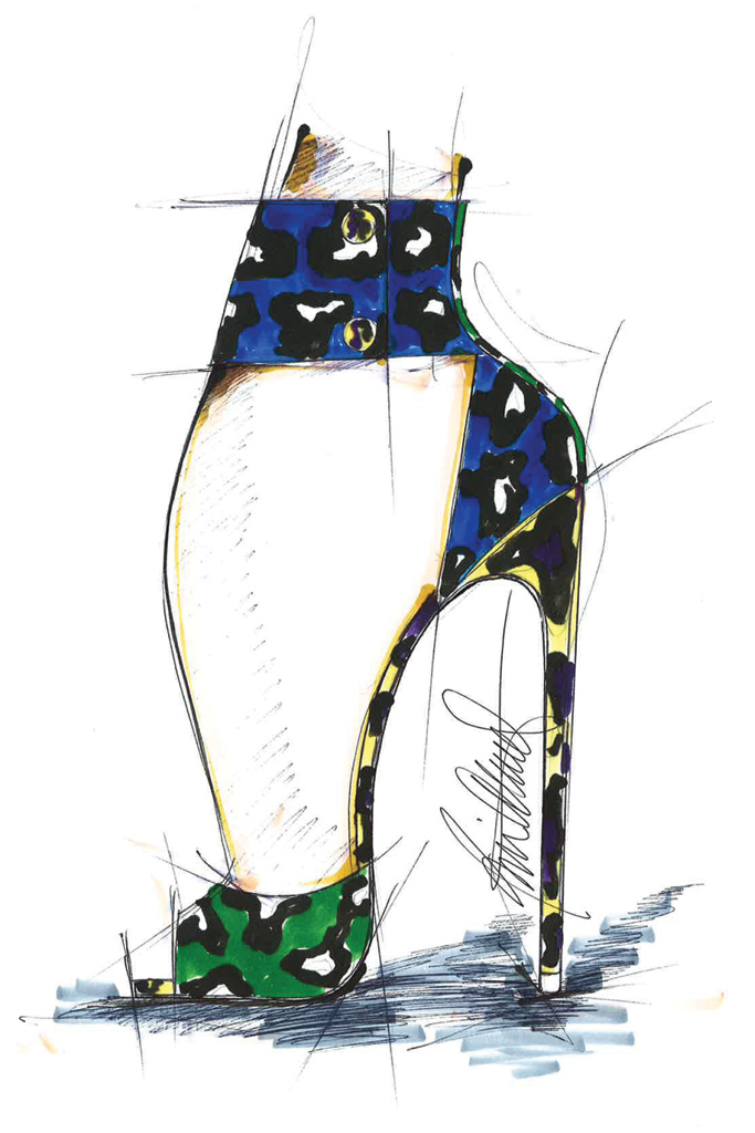 Brian Atwood Resort '17 Sketch