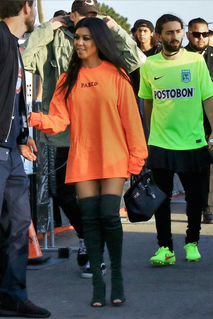 Celebrities Wearing Yeezy Season 2 Shoes