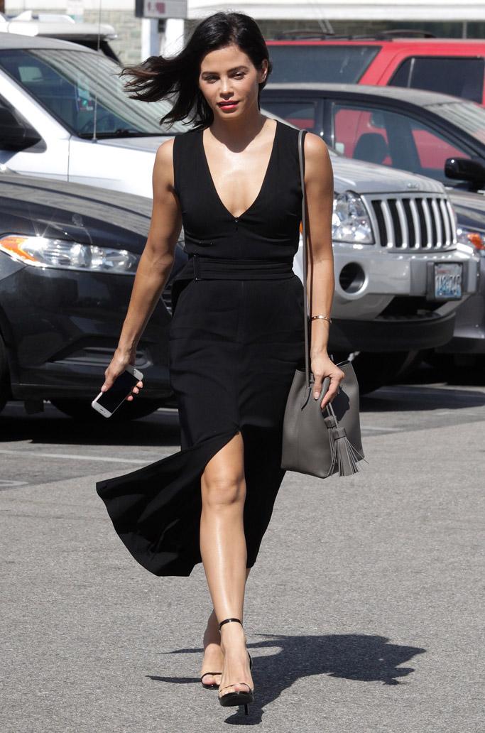 Jenna Dewan Tatum Celebrity Statement Shoes June 2016