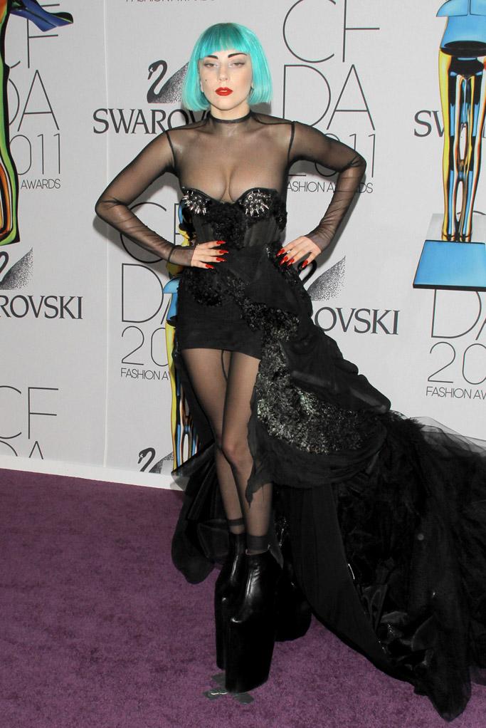 Lady Gaga CFDA Awards Red Carpet