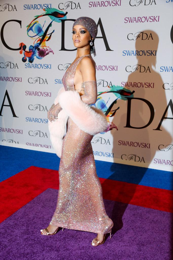 Rihanna CFDA Awards Red Carpet