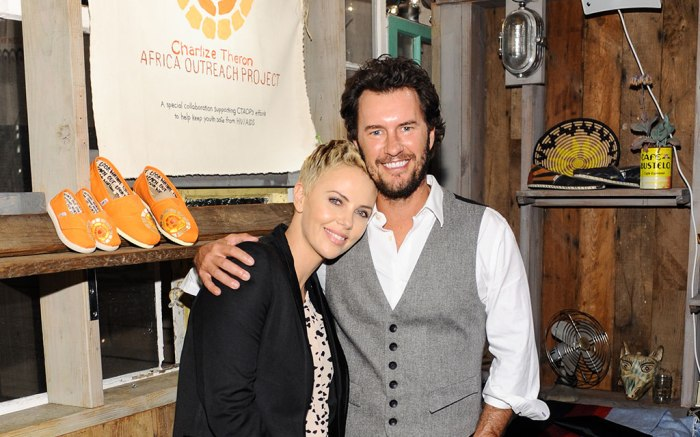 Charlize Theron Collaborates With Toms Shoes