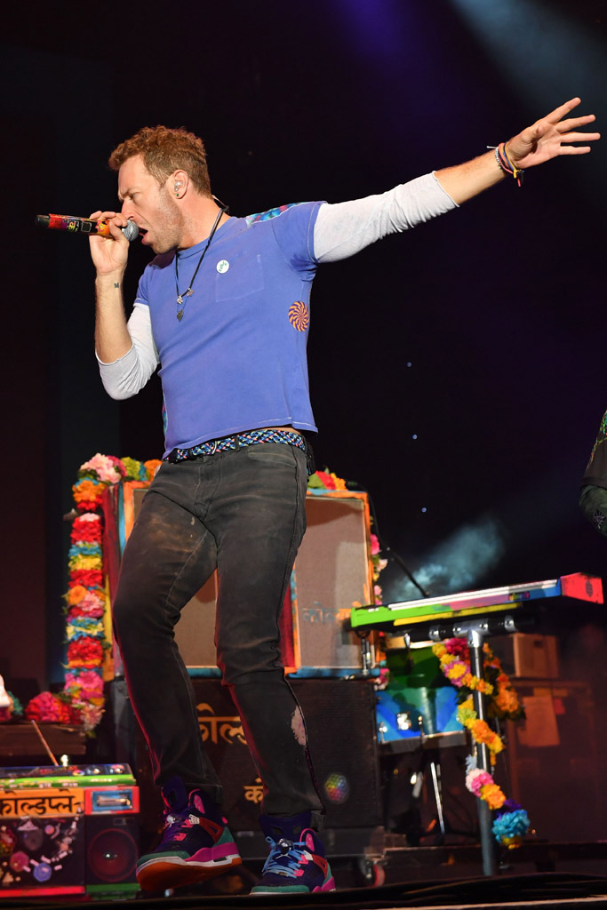 Chris Martin Sentebale Concert Coldplay