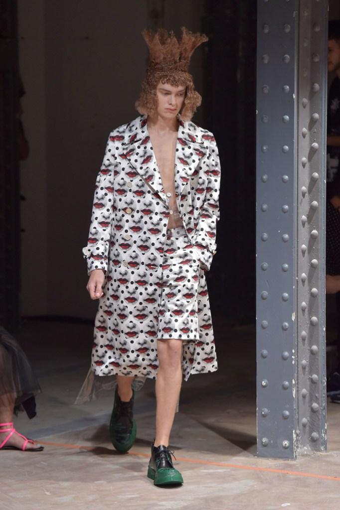 Comme des Garcons Homme Plus Spring 2017 Paris Men's Fashion Week