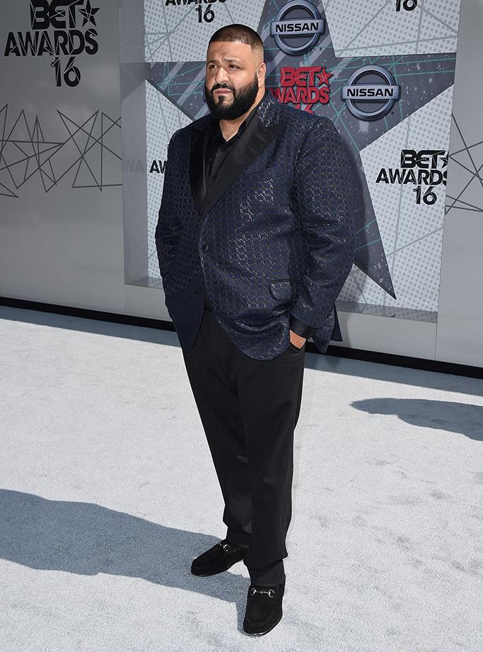 DJ Khaled BET Awards 2016 Red Carpet