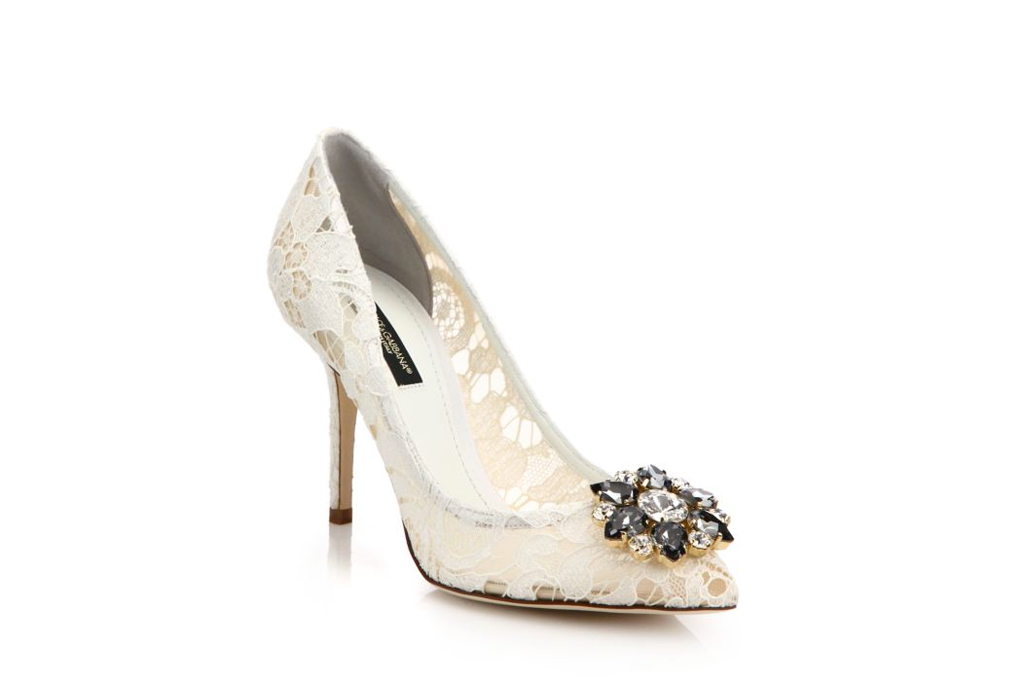 Dolce & Gabbana Wedding Shoes On Sale