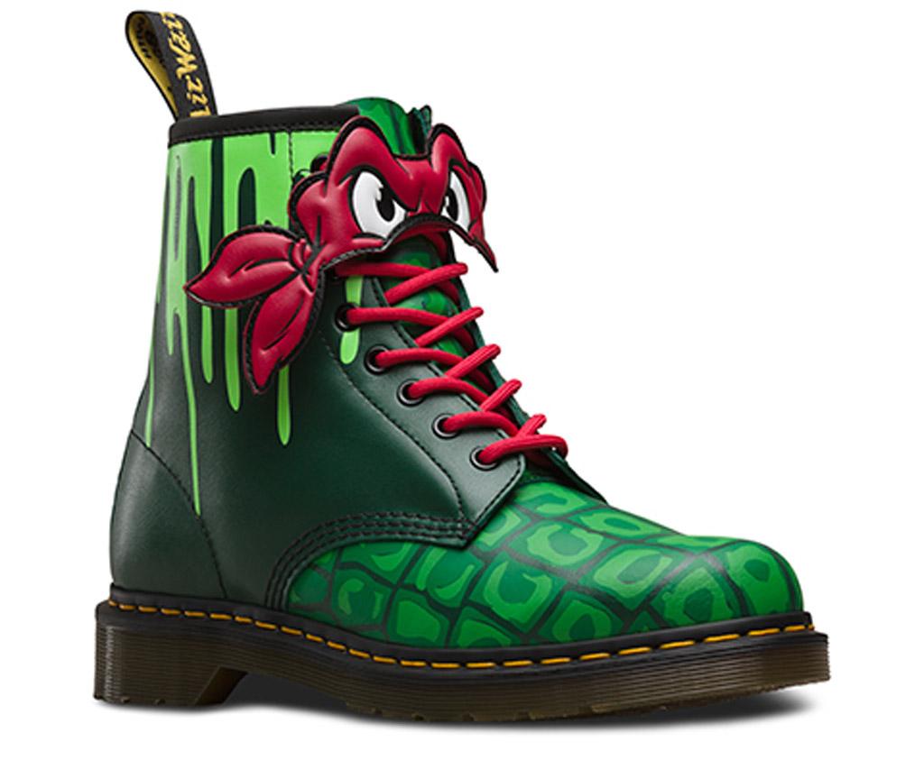 dr martens teenage mutant ninja turtles boots cartoon