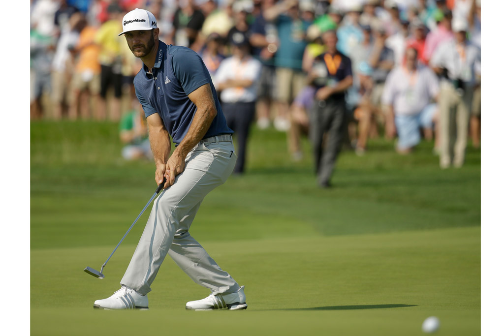 Dustin Johnson U.S. Open Adidas Golf