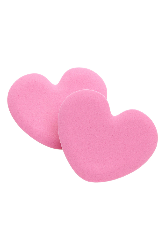 Foot petal heart tip toes