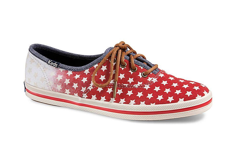 Patriotic Shoes for the Fourth of July