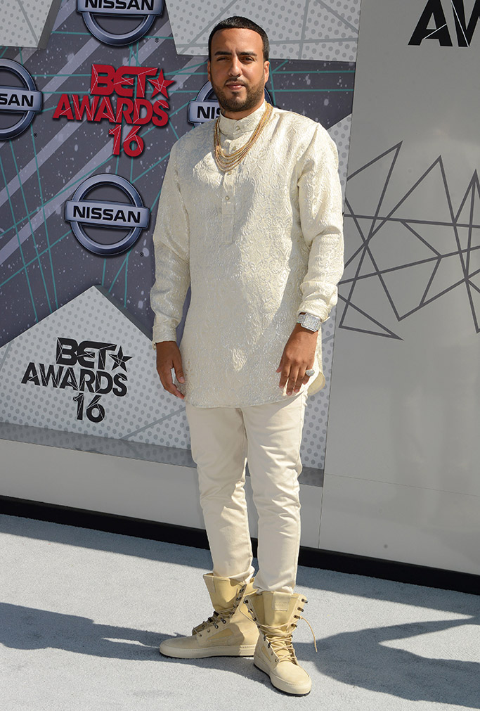 French Montana BET Awards 2016 Red Carpet
