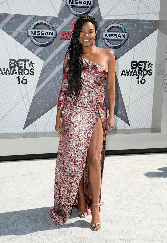 Gabrielle Union BET Awards 2016 Red Carpet