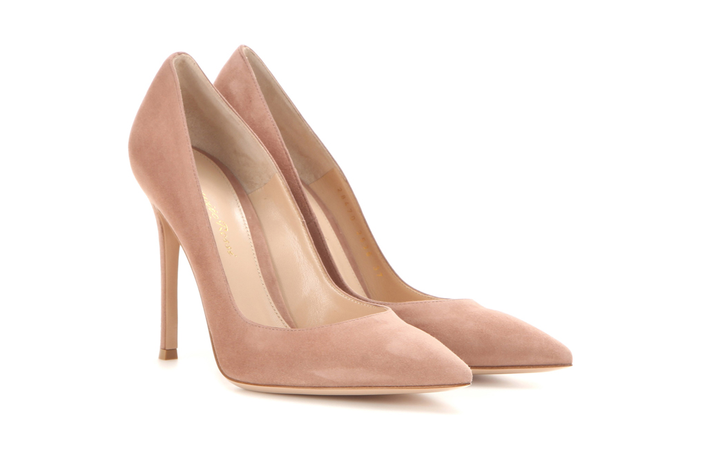 Gianvito Rossi Suede Pumps Kate Middleton