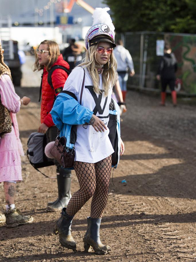 Rita Ora Glastonbury Festival
