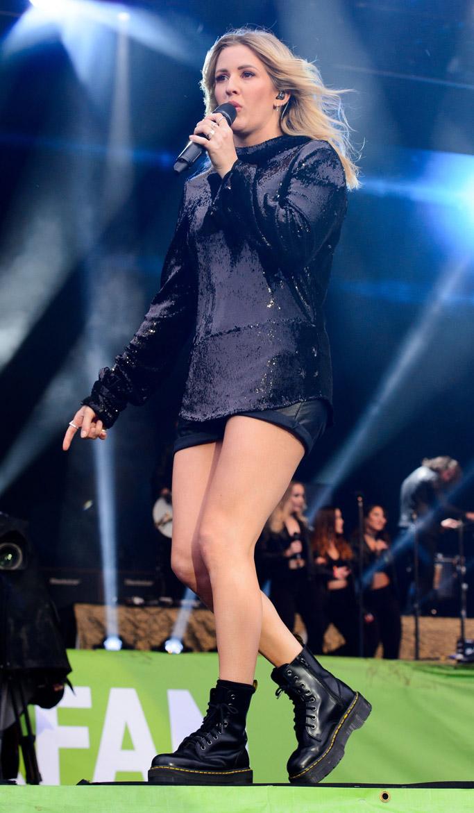 Ellie Goulding Glastonbury Festival