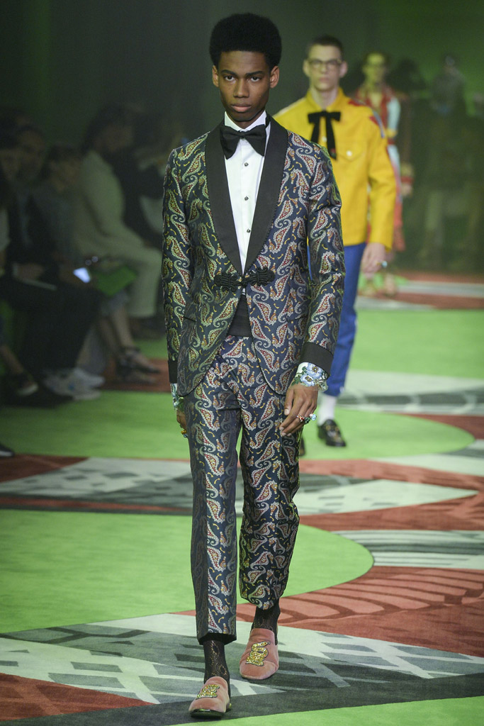 Gucci Men's Spring 2017 Collection