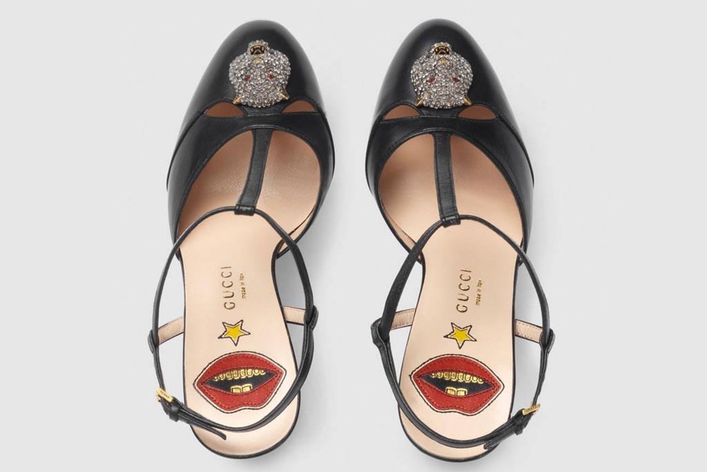 salma hayek gucci heels pumps tale of tales François-Henri Pinault