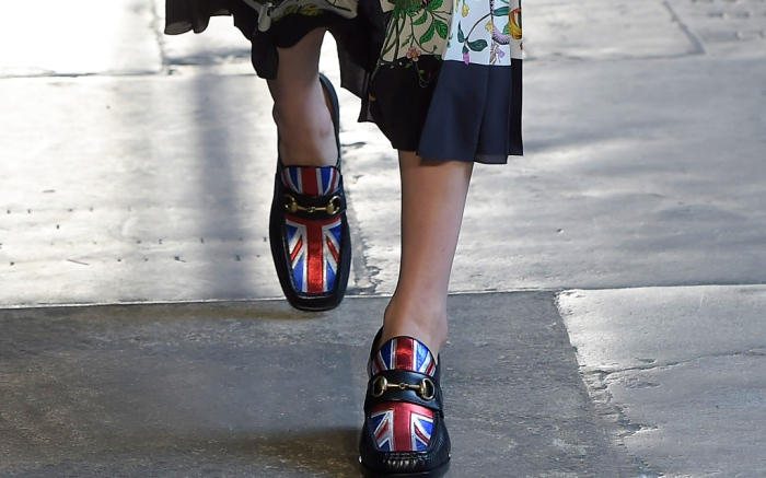 Gucci Union Jack Loafers