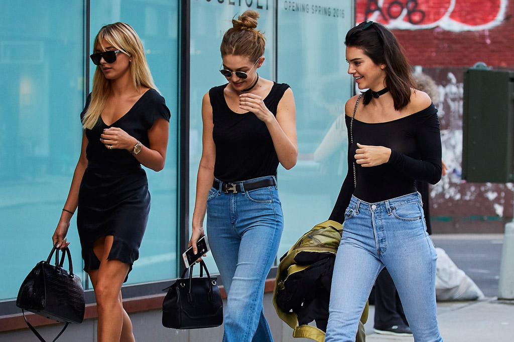Gigi Hadid, Kendall Jenner & Hailey Baldwin Spotted In NYC – Gtbanklr News