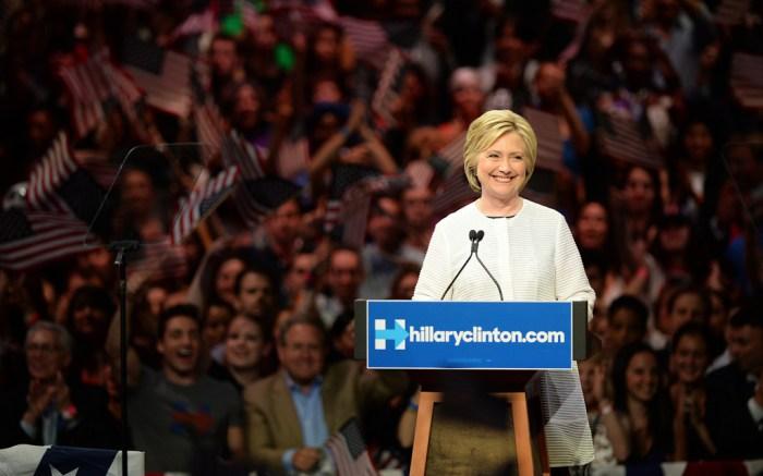Hillary Clinton Presidential Nomination