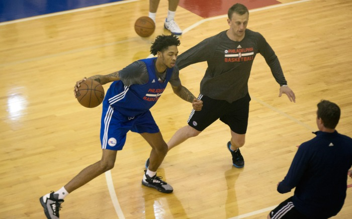 Brandon Ingram Philadelphia 76ers Adidas D Lillard 2 Static