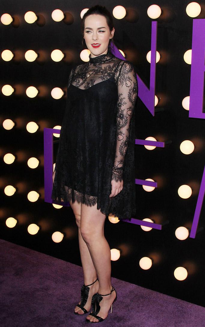 Jenna Malone Celebrity Statement Shoes June 2016