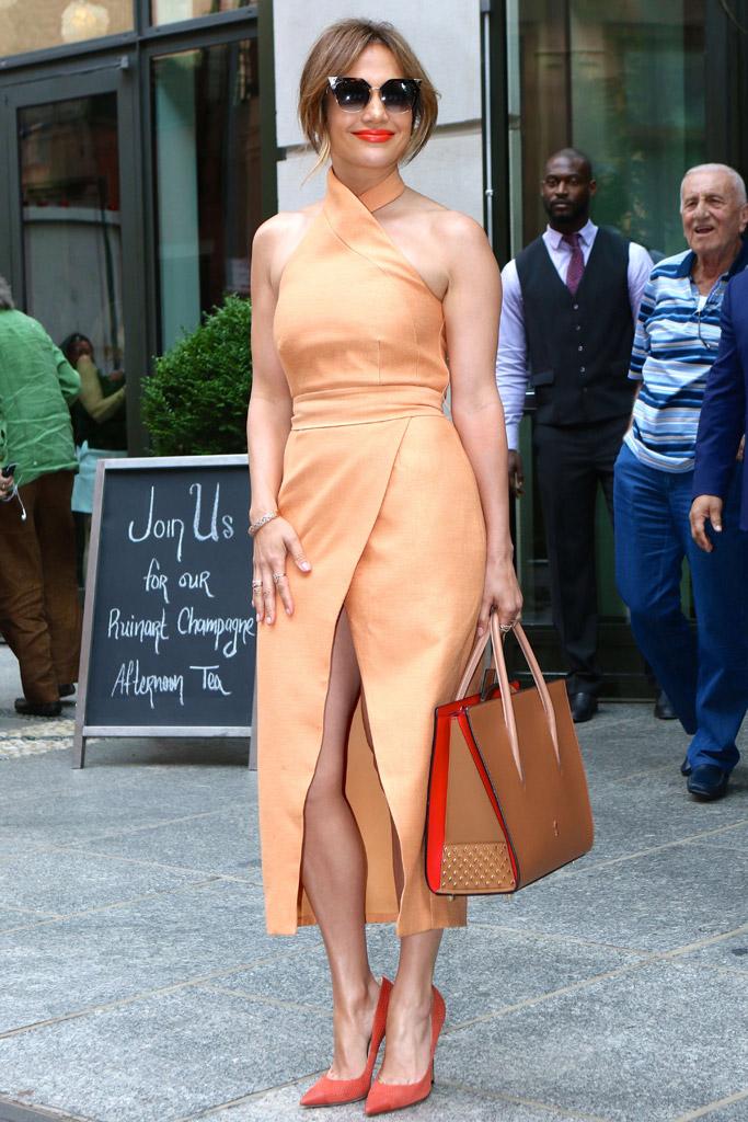 Jennifer Lopez Hillary Clinton Fundraiser