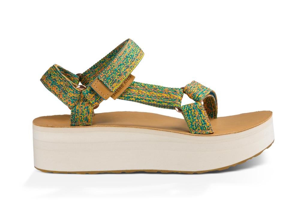 Jhene Aiko Teva Sandals