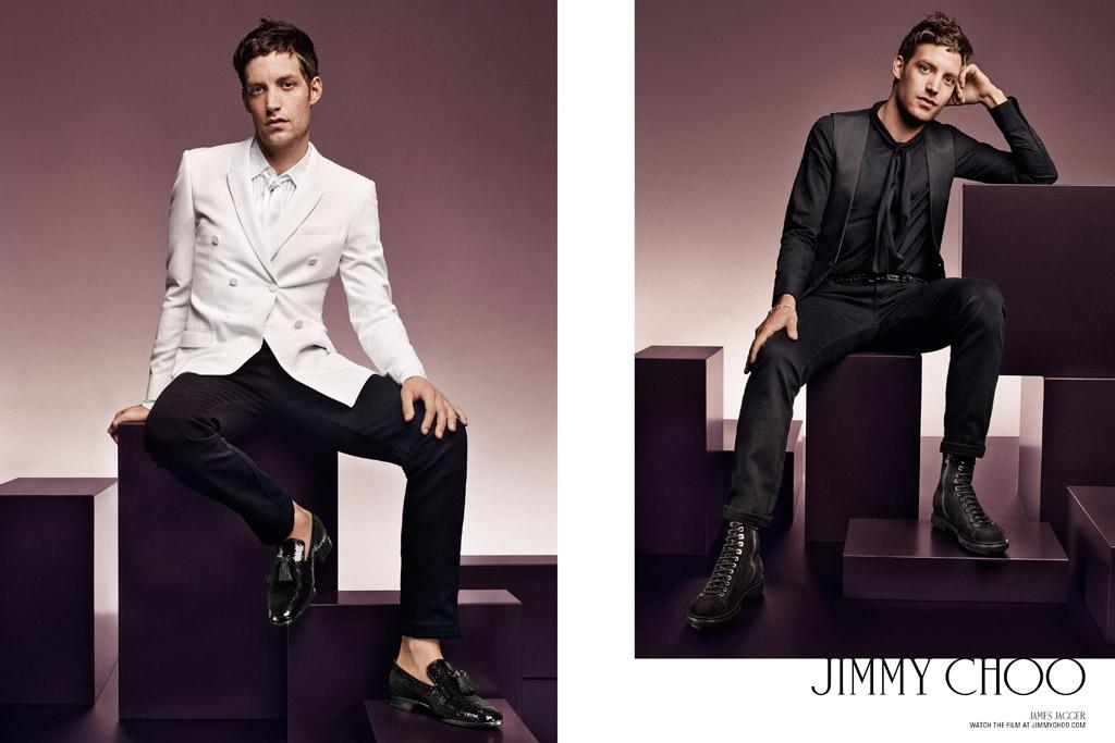 James Jagger Jimmy Choo Men's Fall 2016 Ad Campaign