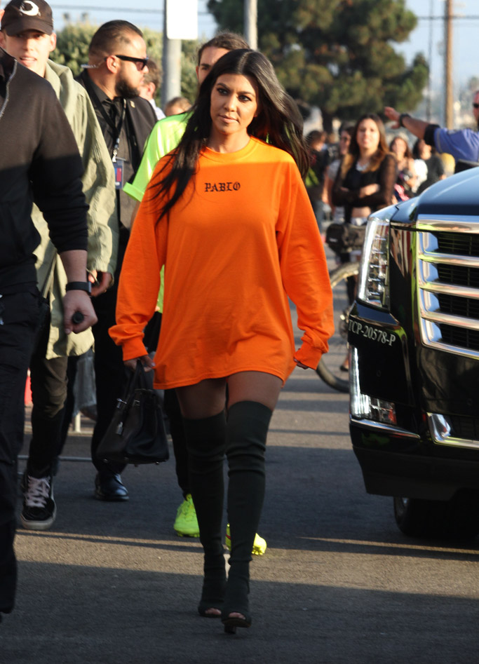 kim kardashian famous kanye west yeezy kourtney kardashian boots