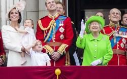 Kate Middleton, Princess Charlotte, Prince George,