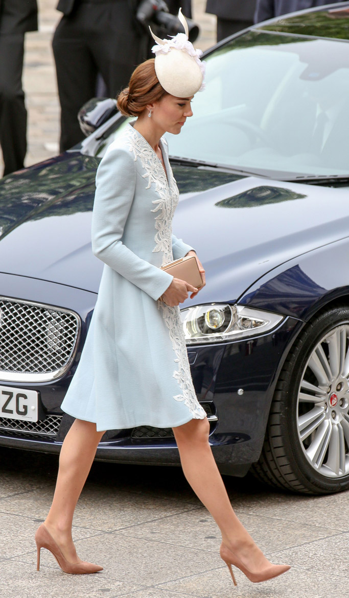 Kate Middleton Celebrity Statement Shoes June 2016