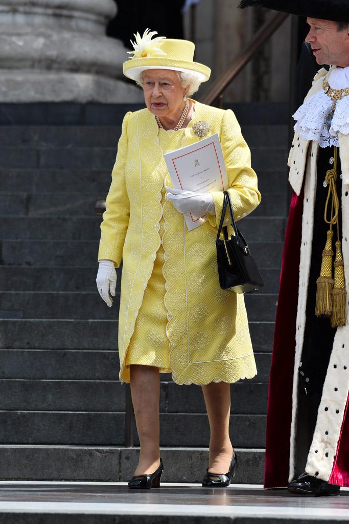 Kate Middleton Queen Elizabeth Birthday Celebration