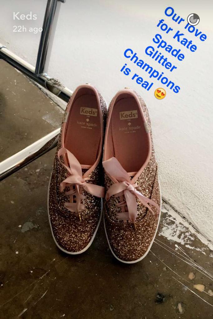 Keds Holiday Shoes Snapchat