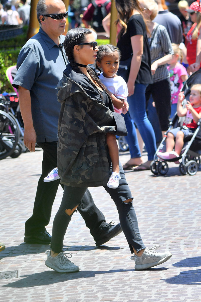 Kim Kardashian North West Disneyland Birthday