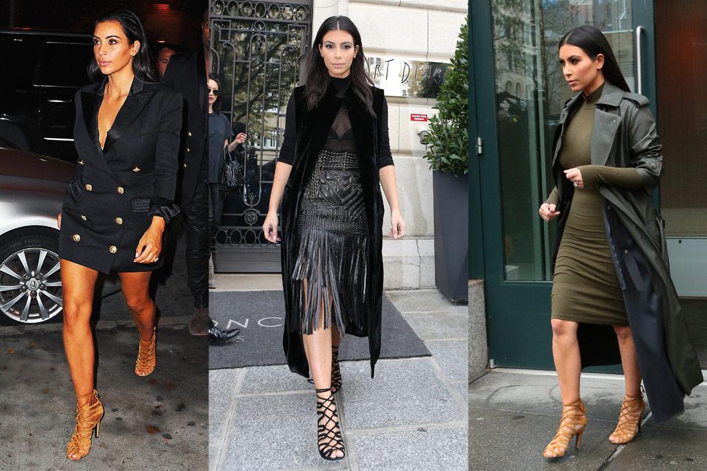 Kim Kardashian West Hermes Sandals