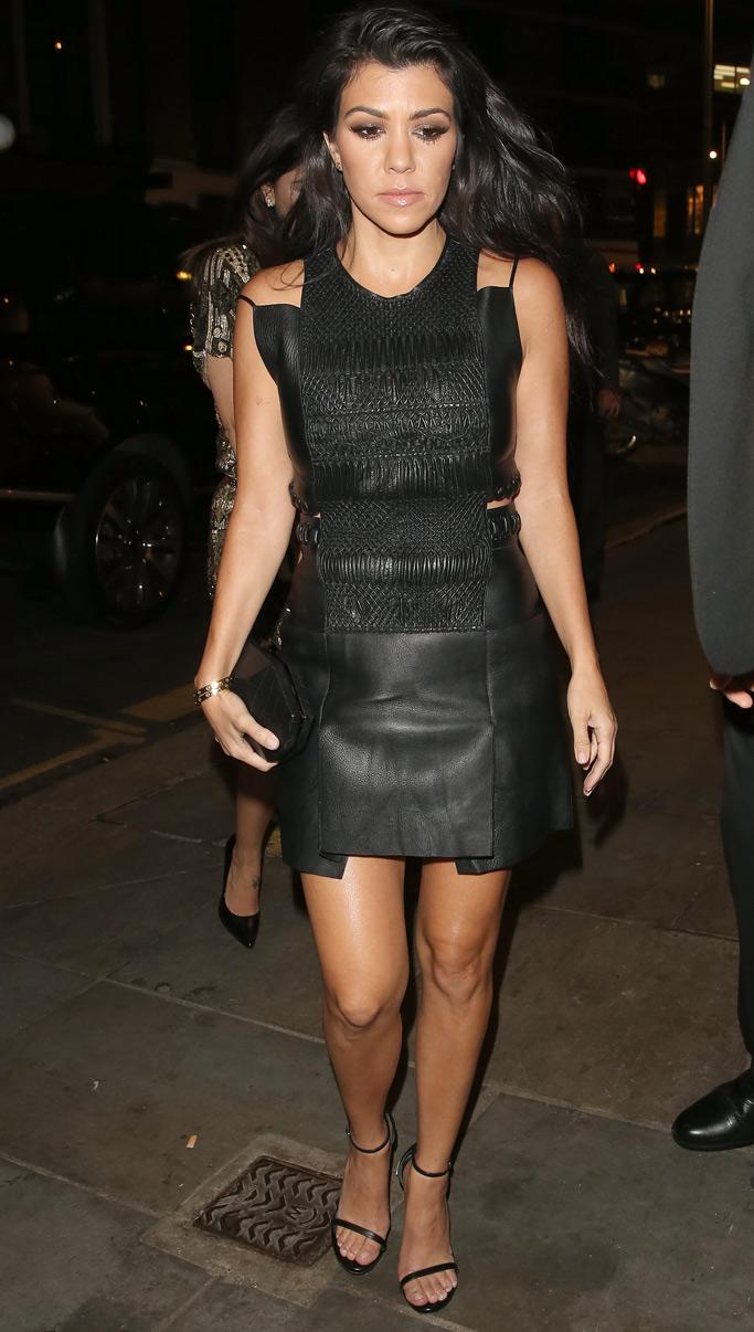 Kourtney Kardashian London