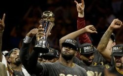 LeBron James Cleveland Cavaliers NBA Finals
